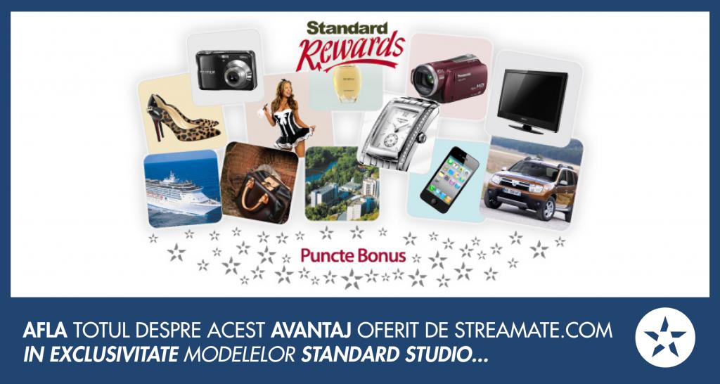 standard rewards - puncte bonus