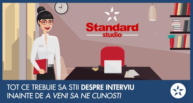 interviu la standard studio